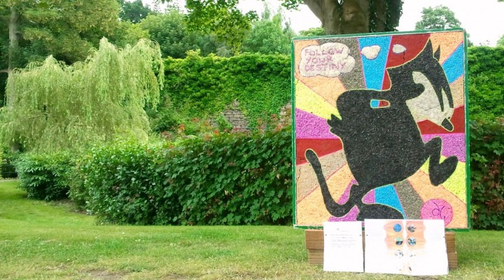a well dressing by the drop inn