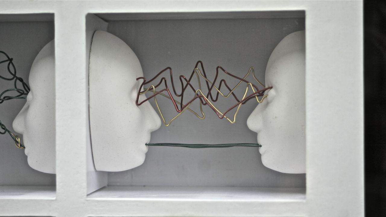a sculpture by julie clare