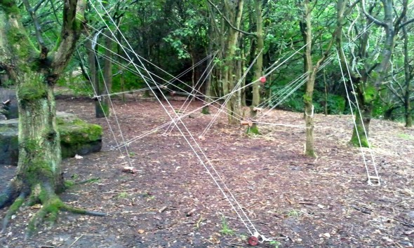 string and bobbins in belper parks