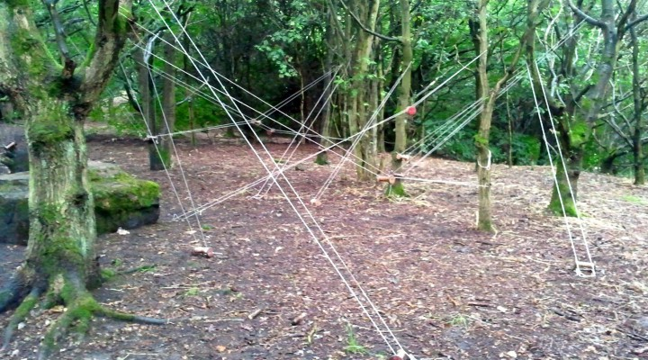 string and bobbins in belper parks